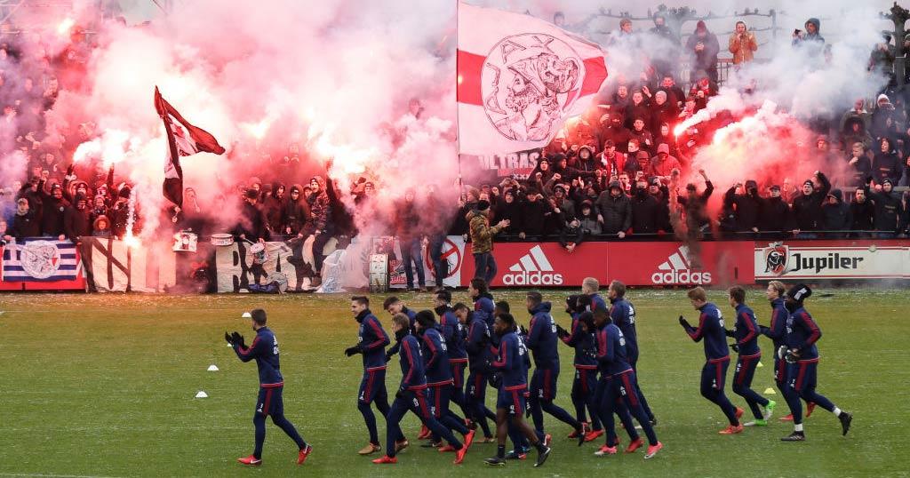 De Klassieker - Ajax tifosi
