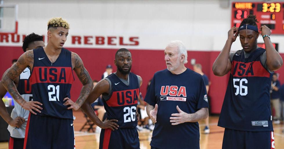 Il quintetto statunitense superfavorito ai Mondiali di basket