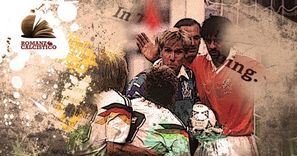 Germania-Olanda-quel famoso e indecente 'sputo' di Frank Rijkaard di Italia 1990 - romanzo calcistico