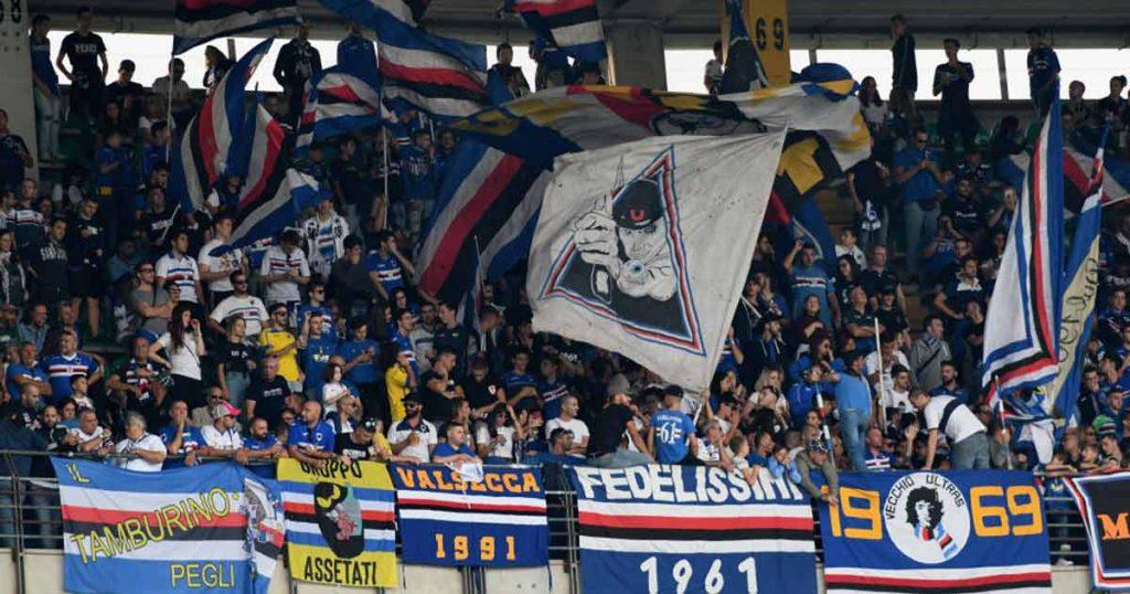 vecchio marinaio blucerchiato: i tifosi della sampdoria allo stadio