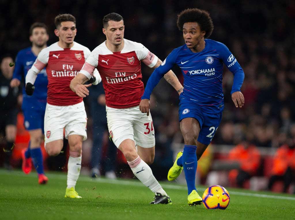 Arsenal-Chelsea chiude il 2019 della Premier League