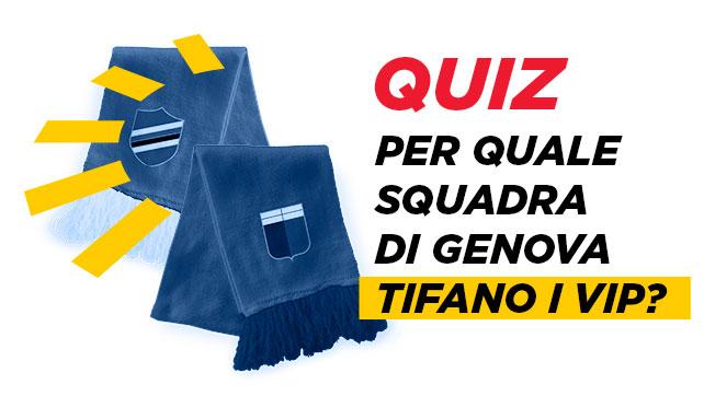 Genoa-Sampdoria: per quale squadra tifano i Vip?